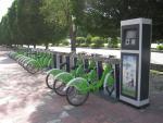 公共自行车东方国际大酒店站点可以正常使用了