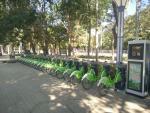 公共自行车新体育馆站点可以正常使用了